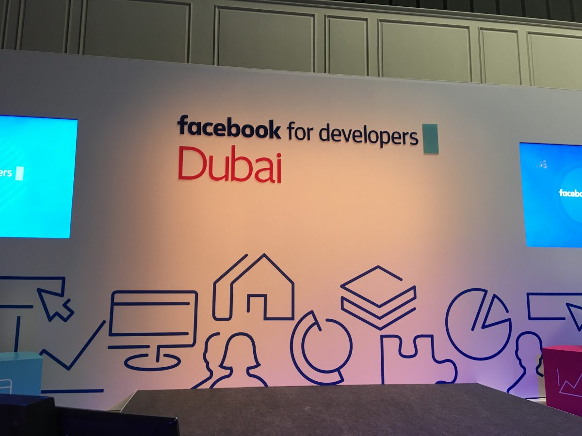 The very first Facebook Developer Event in Dubai.
